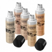 Natural Liquid Foundation Trend Sensitiv LAVERA 6 new colours